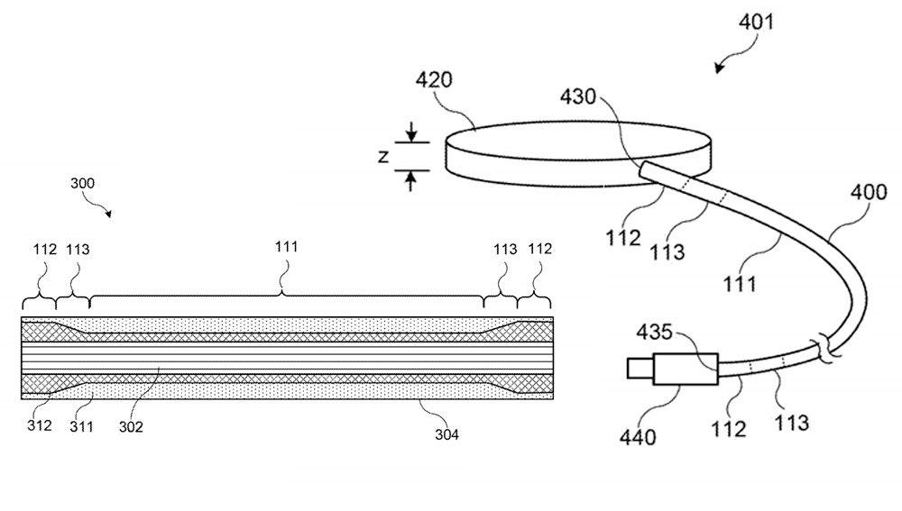 Patente de Apple para sus nuevos cables Lightning.