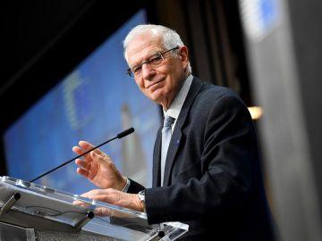 Josep Borrell en el Parlamento Europeo