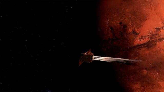 La mision arabe Hope alcanza la orbita de Marte