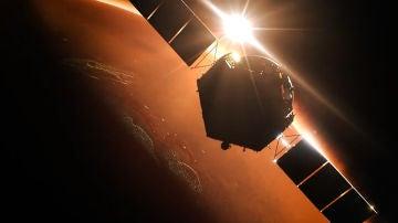 La sonda china Tianwen 1 realiza con exito su insercion orbital en Marte