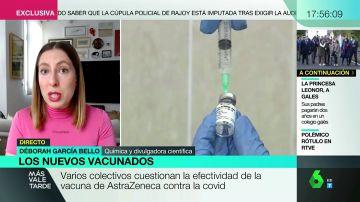"""Deborah García Bello: """"Mientras sean nuevas variantes y no cepas no tenemos que alarmarnos"""""""