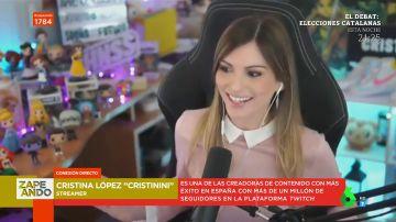 Cristinini devela el divertido consejo que le dio Ibai Llanos para sustituirle como presentador
