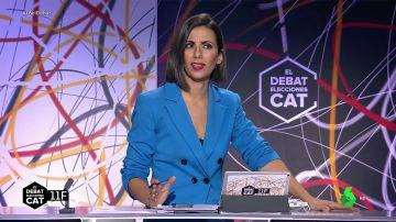 """El toque de atención de Ana Pastor a los candidatos por los gritos e insultos en 'El Debat': """"Evitemos un debate de este tipo"""""""