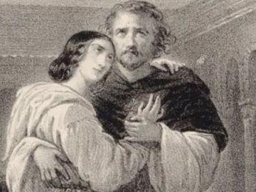 Leonor de Guzmán y el rey Alfonso XI