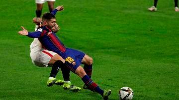 Posible penalti de Suso a Jordi Alba
