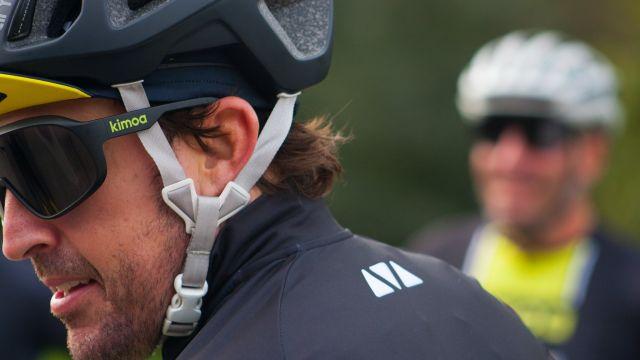 Fernando Alonso en uno de sus entrenamientos