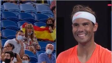 Una mujer le dedica una peineta a Rafa Nadal en el US Open