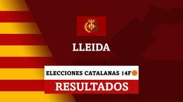 Resultados de las elecciones en Lleida (Lérida)