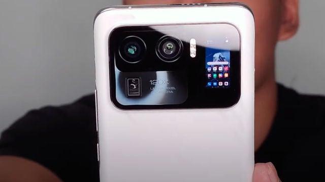 El Xiaomi Mi 11 Ultra y su pantalla secundaria