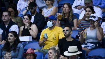 El público en las gradas del Open de Australia