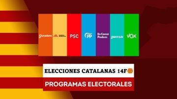 Estos son los programas electorales de los principales partidos en las elecciones en Cataluña
