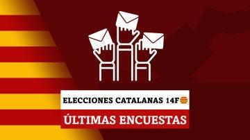 Estas son las últimas encuestas de las elecciones catalanas del 14F
