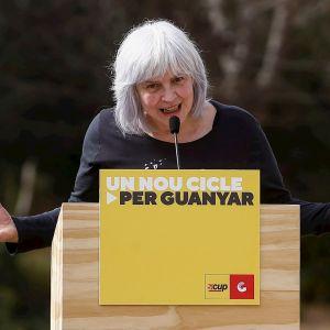 Dolors Sabater, candidata de las CUP en las elecciones de Cataluña