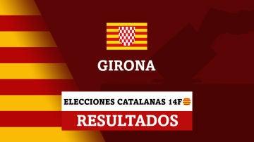 Resultados de las elecciones catalanas en Girona (Gerona)