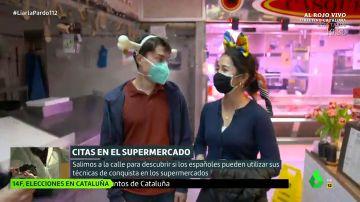 ¿Estarían dispuestos los solteros españoles a ligar en el supermercado como en Alemania?