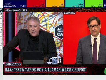 """Illa asegura que hablará """"con los independentistas"""" para intentar """"sumar los apoyos"""" en Cataluña"""