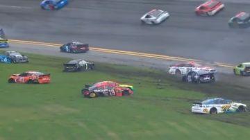 Accidente en la NASCAR