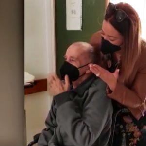 Antonio abandona el hospital tras 11 meses ingresado por COVID-19