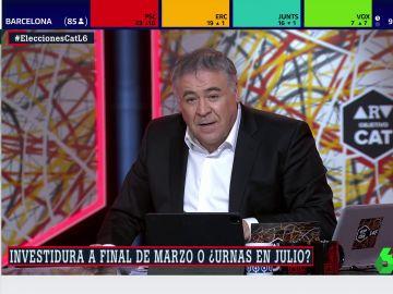 Antonio García Ferreras en 'Al Rojo Vivo: Objetivo Cataluña'
