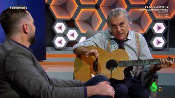 """Bárcenas se 'sincera' con Dani Mateo y destapa su faceta de cantautor: """"Rosalía, todo por tu amor, al juez voy a confesarlo todo"""""""