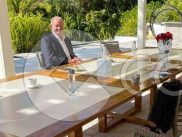 La nueva fotografía del rey Juan Carlos I en Abu Dabi