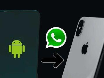Traslada WhatsApp de Android a iPhone