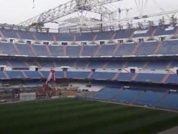 Obras del Santiago Berbabéu