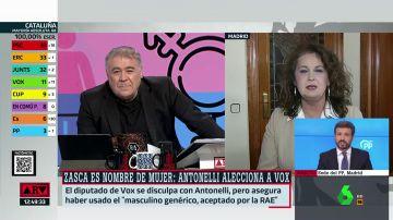 Carla Antonelli, diputada del PSOE