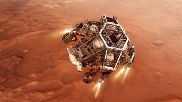 La NASA retransmite en espanol el amartizaje de Perseverance