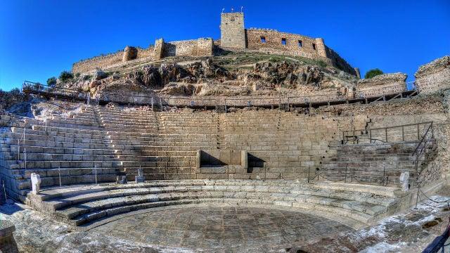 Castillo medieval de Medellín