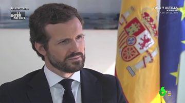 Vídeo manipulado - Pillan a Pablo Casado viendo un vídeo sobre cómo escapar de la Policía