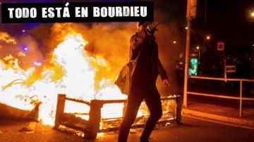 Barricadas en la segunda noche de protestas en Cataluña