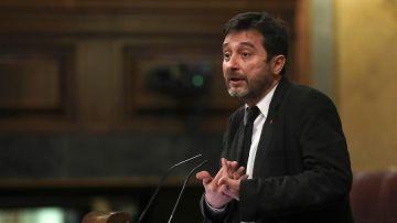 El diputado y coportavoz de Podemos, Rafa Mayoral.