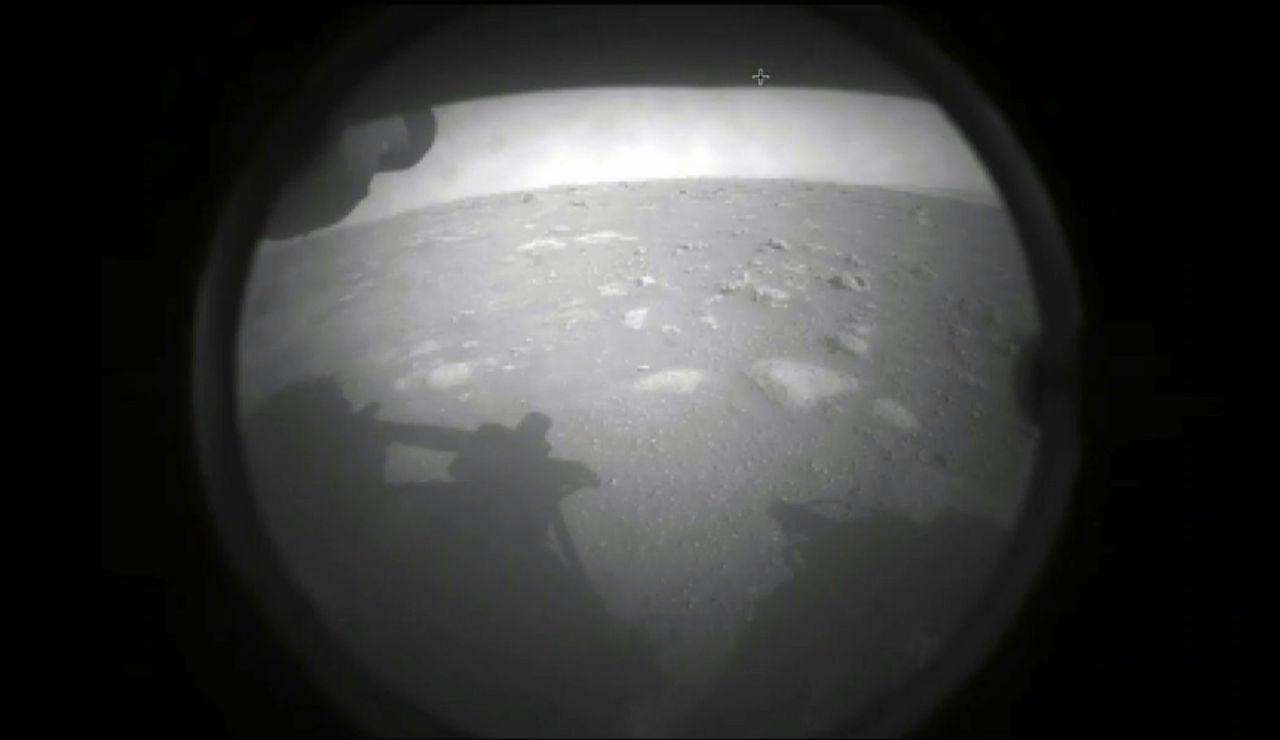 Perseverance aterriza con exito en Marte