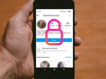 Privacidad de las cuentas de Instagram