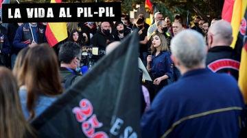 Marcha neonazi en homenaje a la División Azul