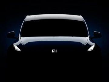 Tesla con logotipo de Xiaomi