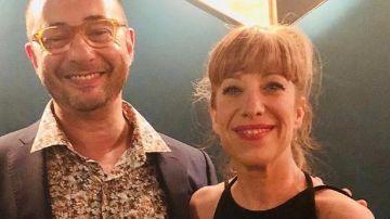 Nathalie Seseña y Jordi Sánchez en una imagen de archivo