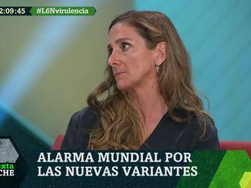 Olga Mediano, en laSexta Noche