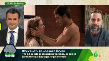 Hugo Silva en laSexta Noche