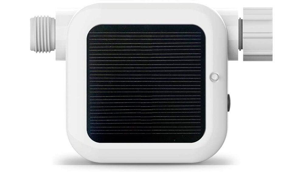 Ahorra agua al regar tu jardín con un temporizador inteligente controlado desde el móvil