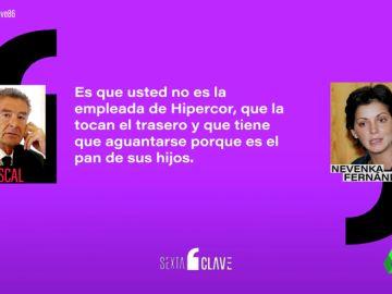 """Las duras palabras que tuvo que soportar Nevenka Fernández durante el juicio: """"Uno se marcha si tiene dignidad y luego renuncia"""""""