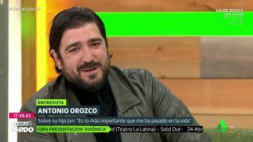 Antonio Orozco en Liarla Pardo