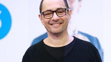 El actor Jordi Sánchez durante la presentación de una temporada de una serie