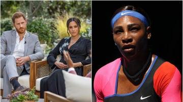 Enrique de Sussex, Meghan de Sussex y Serena Williams