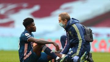 Thomas, en el Arsenal