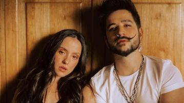 Evaluna y Camilo en una imagen en redes sociales