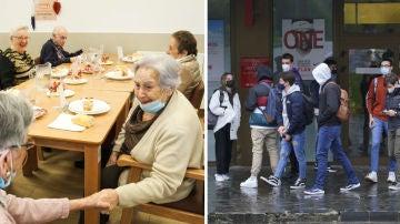 La pandemia no ha afectado a todas las generaciones por igual