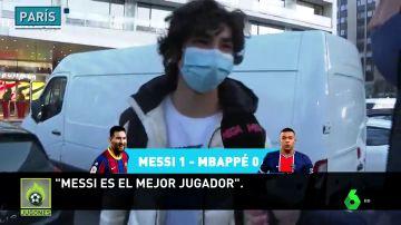 ¿Messi o Mbappé? La afición del PSG responde