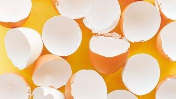 La composición de la cáscara de huevo es carbonato de calcio en su mayoría